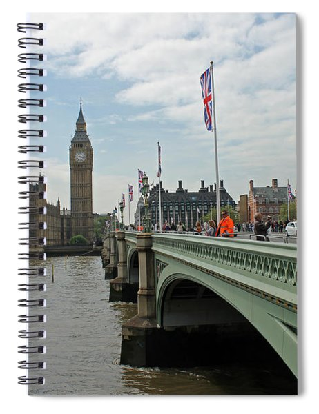 Westminster Bridge Spiral Notebook
