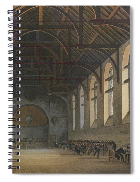 Westminster School Room, From History Of Westminster School, Part Of History Of The Colleges Spiral Notebook