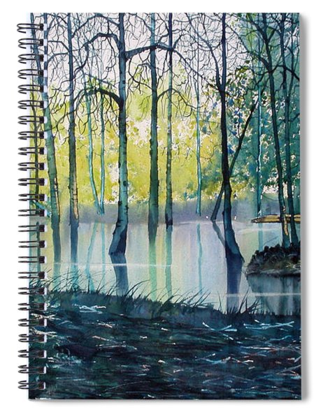 Wetlands On Skipwith Common Spiral Notebook