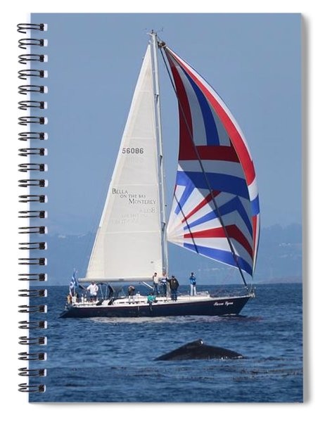 Whale Watching 2  Spiral Notebook