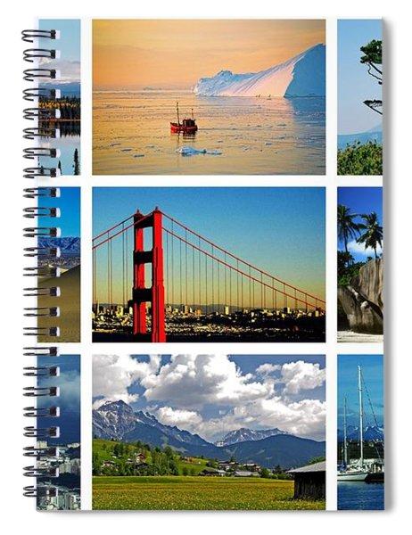 My Wonderful World ... Spiral Notebook