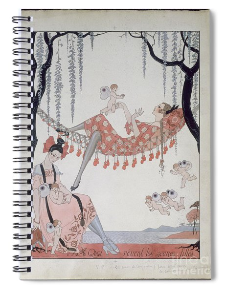 What Do Young Women Dream Of? Spiral Notebook