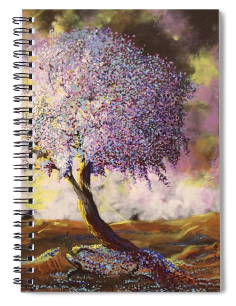What Dreams May Come Spirit Tree Spiral Notebook
