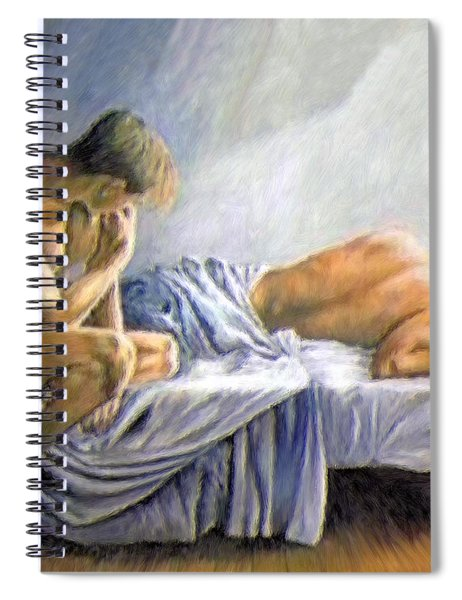 What Is He Dreaming Spiral Notebook
