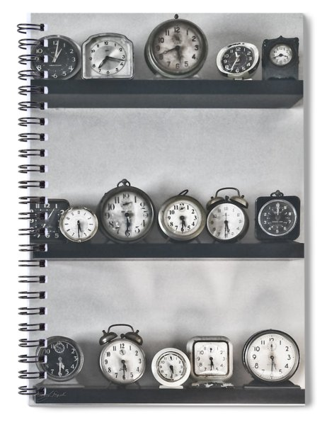 What Time Is It Spiral Notebook