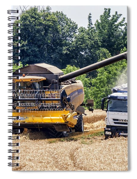 Wheat Harvest Spiral Notebook