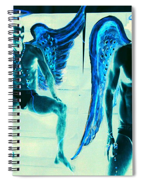 When Heaven And Earth Collide Series Spiral Notebook