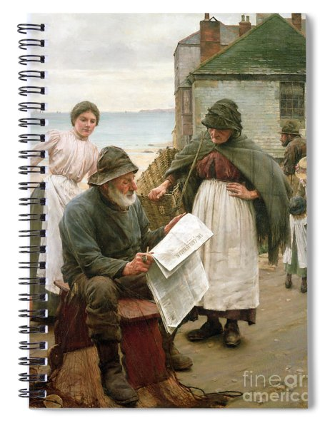 When The Boats Are Away Spiral Notebook