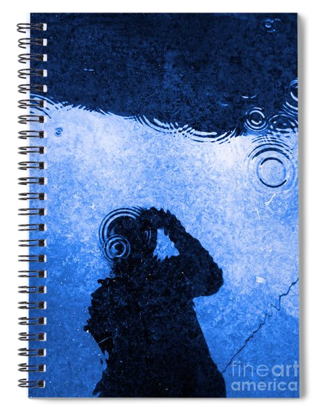 When The Rain Comes Spiral Notebook