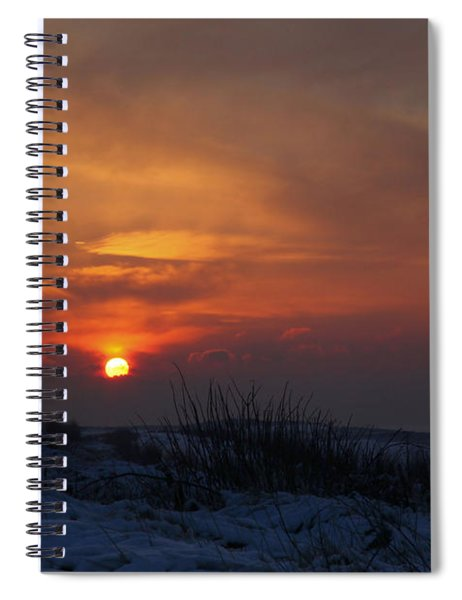 When The Sun Goes Down  Spiral Notebook
