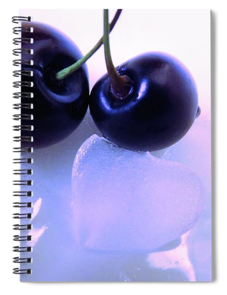 When Two Hearts Become One Spiral Notebook
