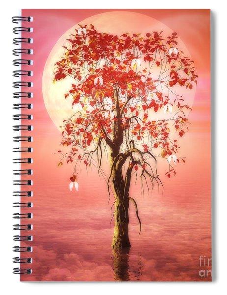 Where Angels Bloom Spiral Notebook