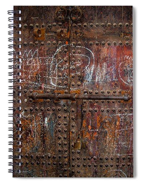 Marrakech Door Spiral Notebook