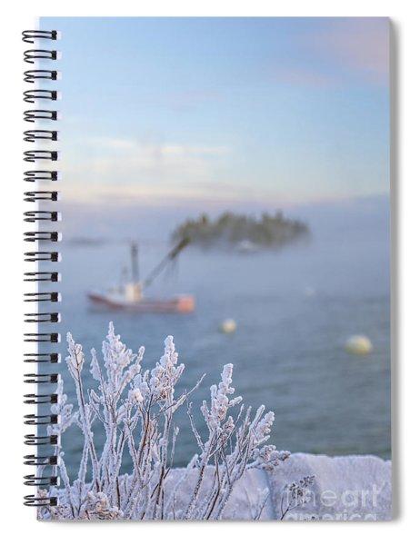 Where Morning Glories Grow Spiral Notebook