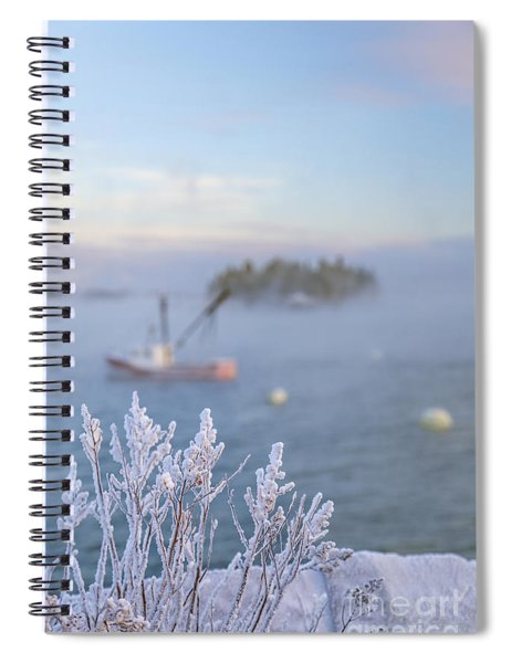 Where Morning Glories Grow Spiral Notebook