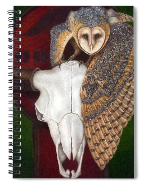 Where Once They Roamed Spiral Notebook by Pat Erickson