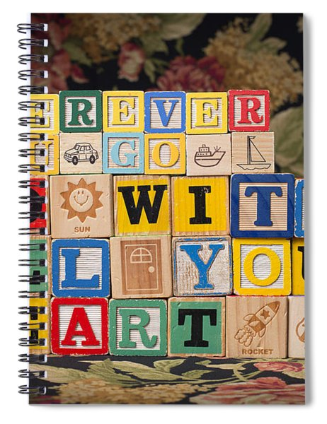 Wherever You Go Go With All Your Heart Spiral Notebook
