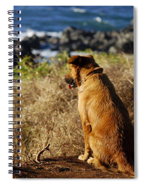 Wherever You Go Let Me Go Too Spiral Notebook