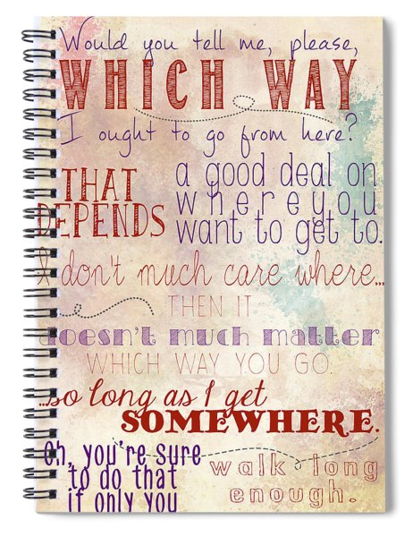 Which Way Spiral Notebook