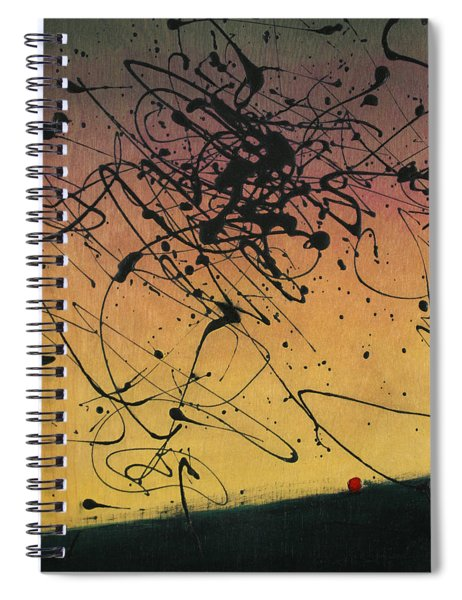 While Sisyphus Slept Spiral Notebook