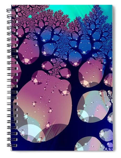 Whimsical Forest Spiral Notebook
