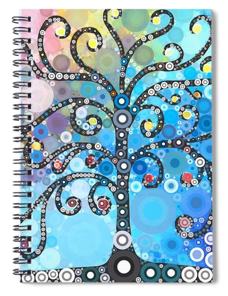 Whimsical Tree Spiral Notebook