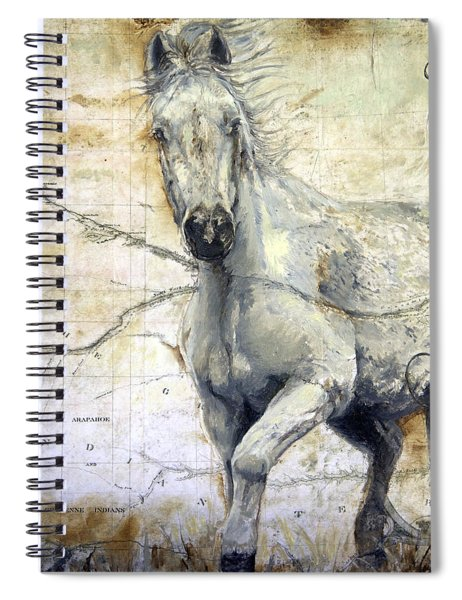 Whipsers Across The Steppe Spiral Notebook