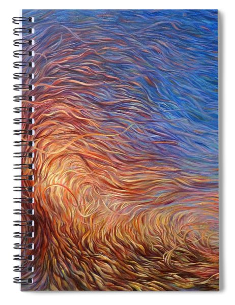 Whirl Tree Spiral Notebook