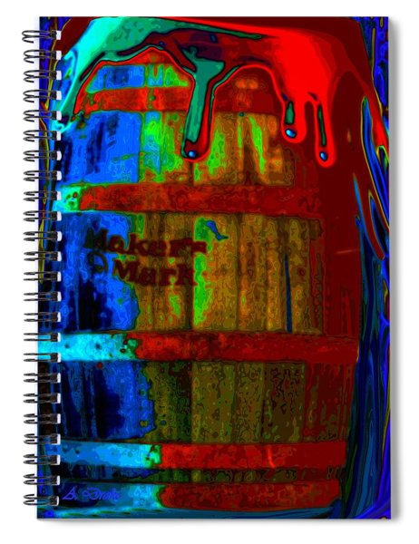 Whiskey A Go Go Spiral Notebook
