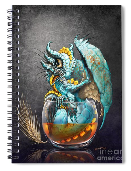 Whiskey Dragon Spiral Notebook
