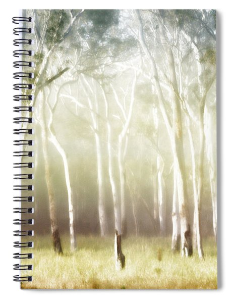 Whisper The Trees Spiral Notebook