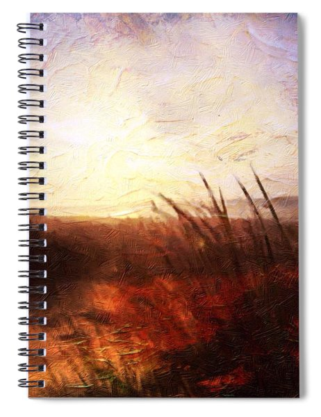 Whispering Shores By M.a Spiral Notebook