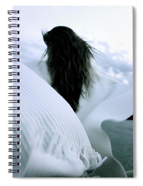 White Angel Spiral Notebook