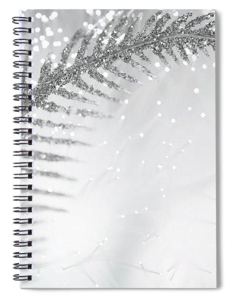 White Bird Spiral Notebook