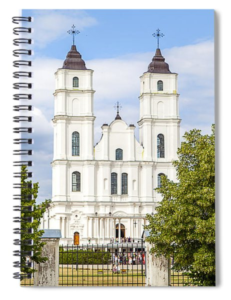 White Church Spiral Notebook