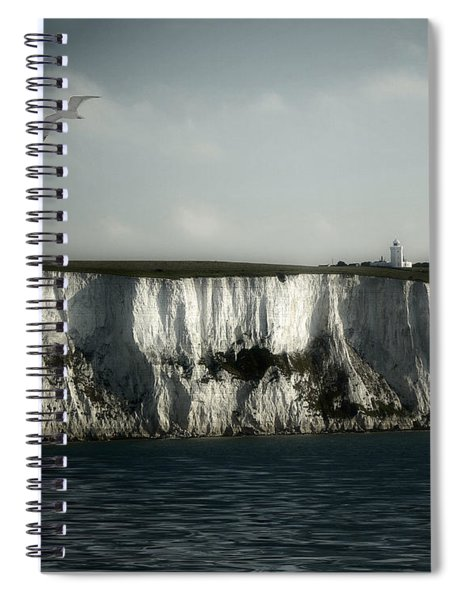 White Cliffs Of Dover Spiral Notebook