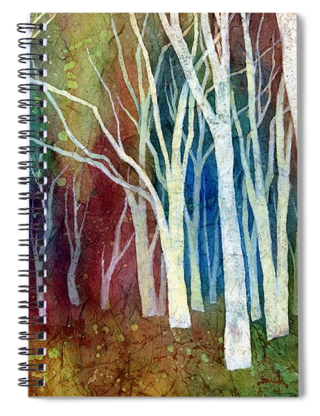 White Forest I Spiral Notebook