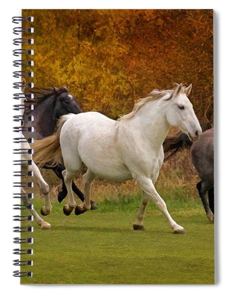 White Horse Vale Lipizzans Spiral Notebook