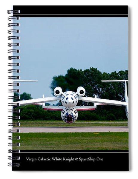 White Knight Spiral Notebook