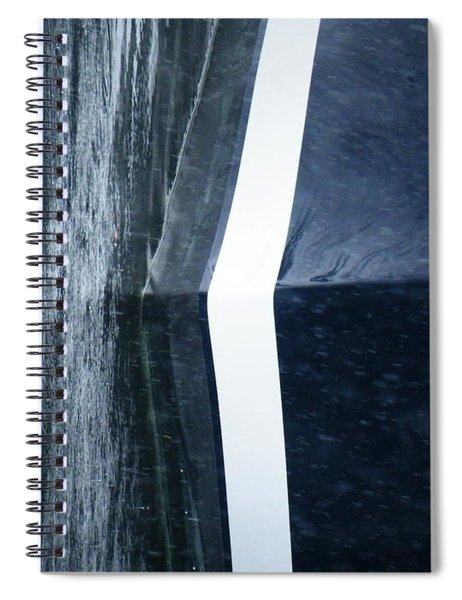White Line Fever Number Four Spiral Notebook