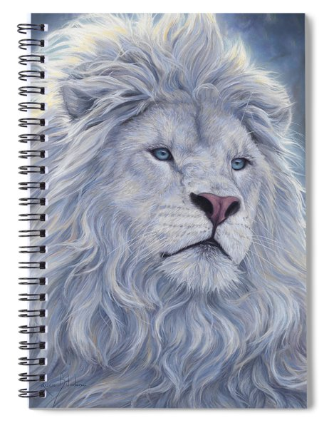 White Lion Spiral Notebook