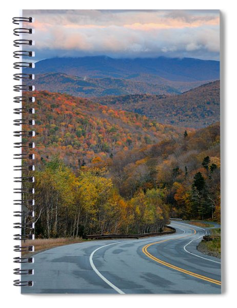 Twisty Mountain Road - New Hampshire Spiral Notebook