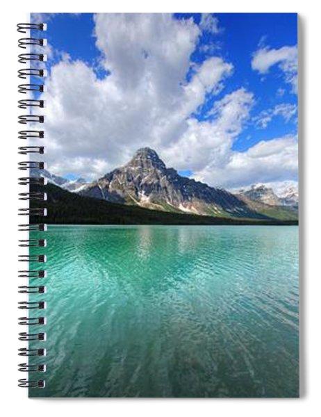 White Pyramid Spiral Notebook