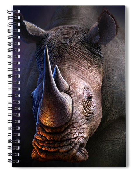 White Rhino Spiral Notebook