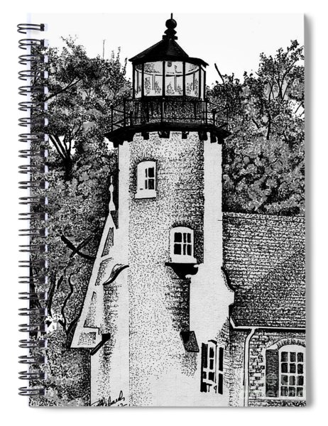 White River Station Spiral Notebook