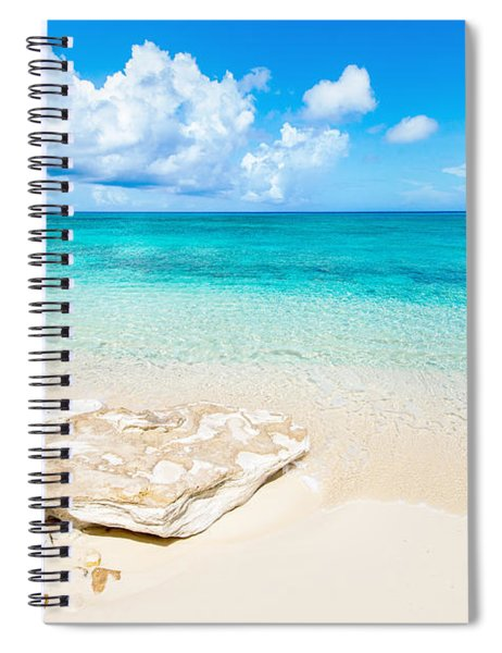 White Sand Spiral Notebook