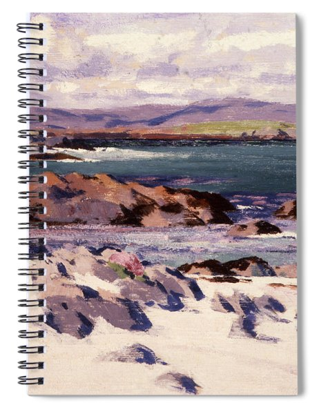 White Sands   Iona  Spiral Notebook