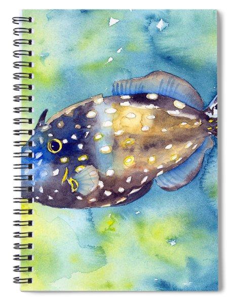 Whitespot Filefish Spiral Notebook
