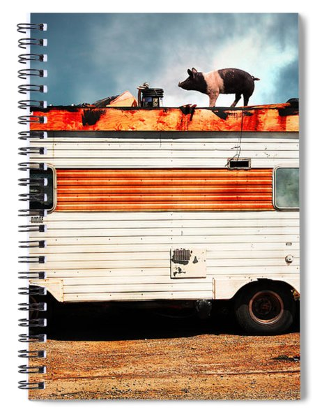 Wilbur The Pig Goes On Vacation 5d22705 Spiral Notebook