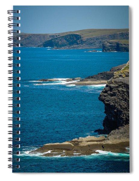 Wild Atlantic Coast Spiral Notebook